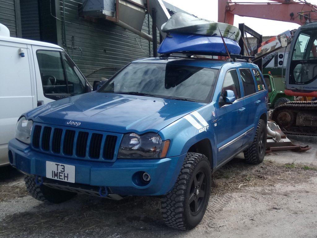 Jeep-kayak
