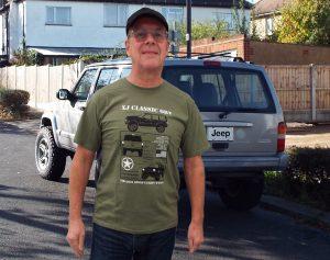 Jeep XJ Tshirt