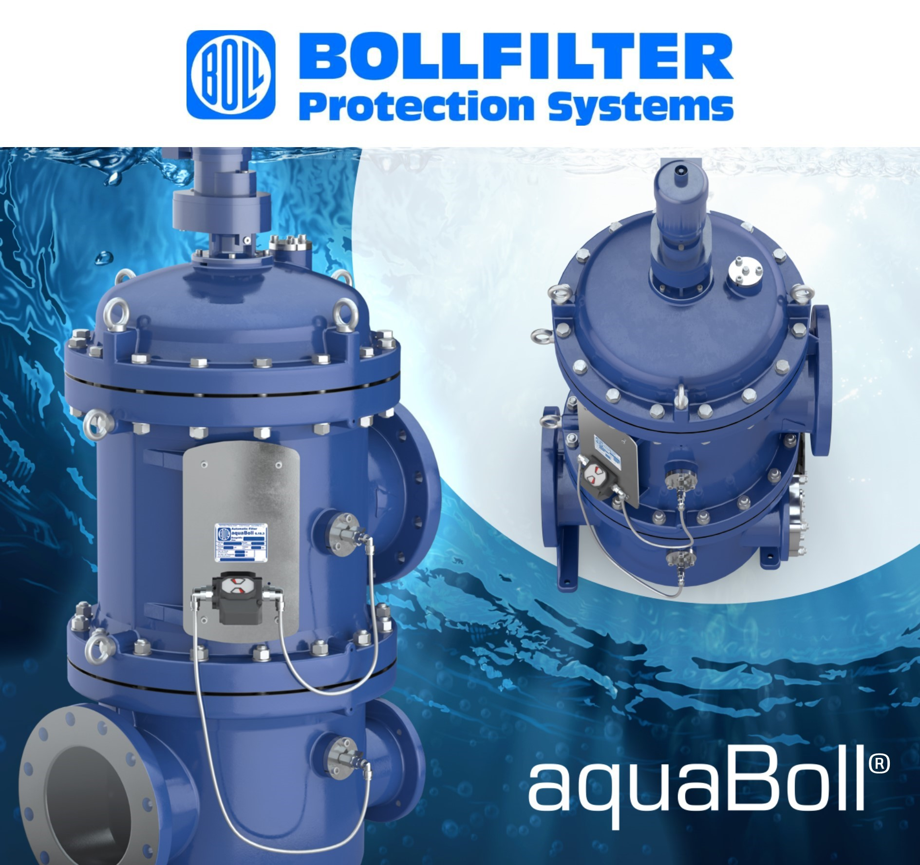 BOLLFILTER UK present our new Fully Automatic Filter aquaBoll®