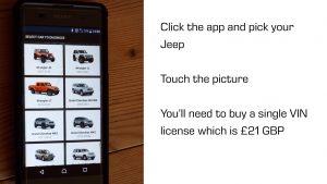 OBD JScan Jeep App