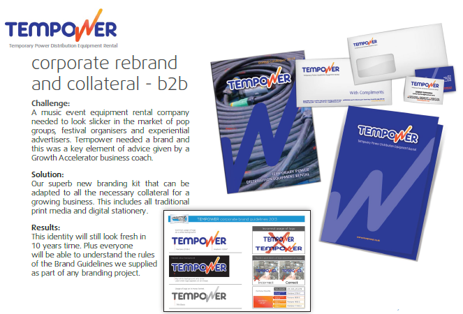 Tempower brand identity 2013