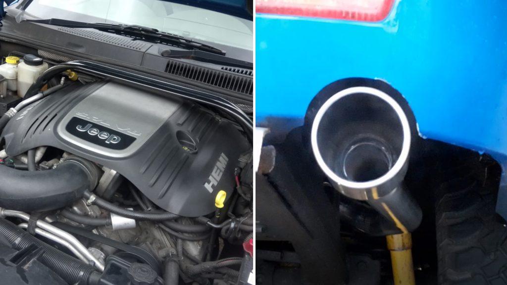 K&N Cold Air Intake + Magnaflow