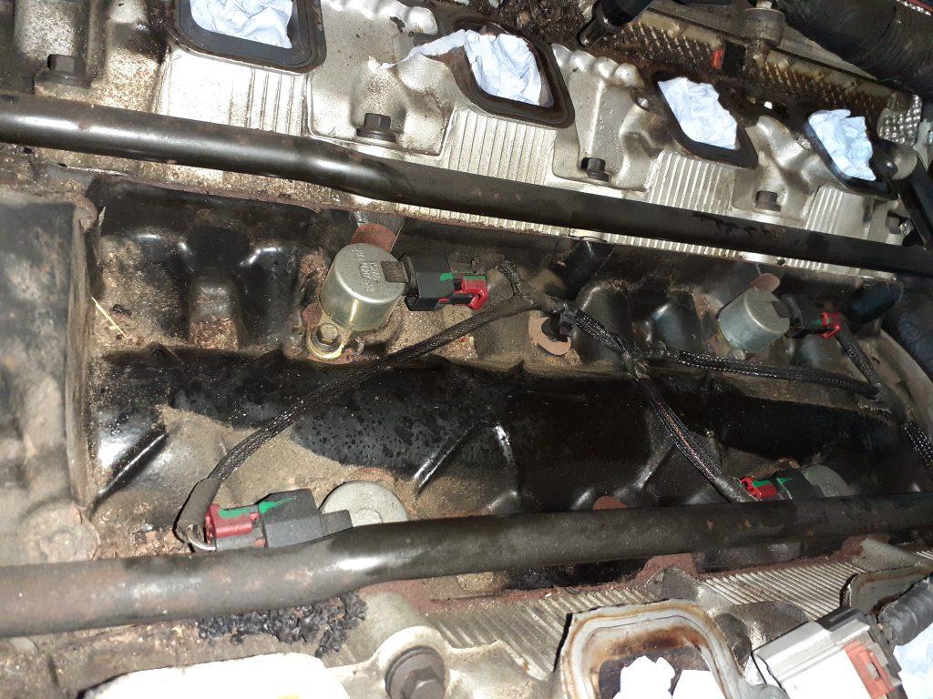 Mark 3 HEMI MDS Solenoids in the engine block