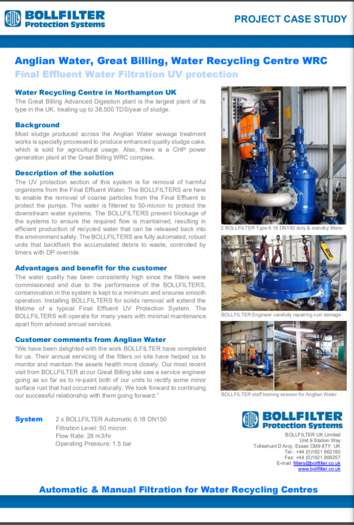 Water Recycling Centre